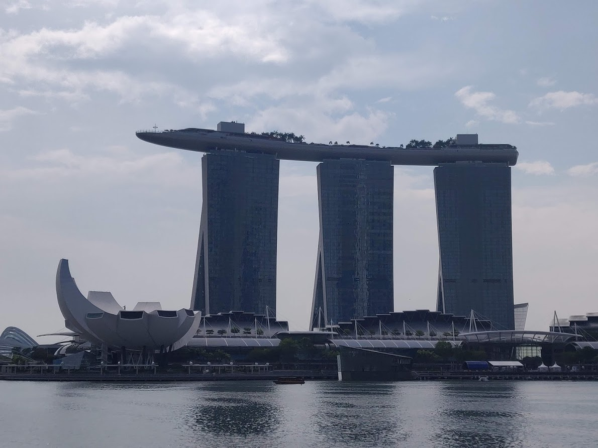 Singapore Deel 2: Marina Bay Sands
